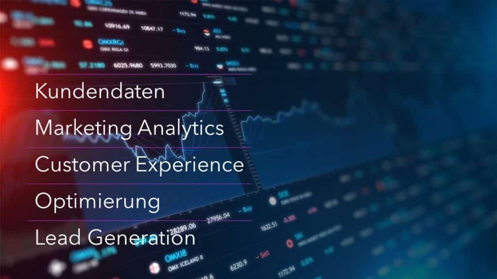 Marketing Analytics Digitalisierung